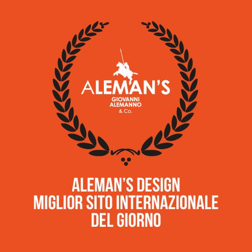 Aleman 39 s design il miglior sito internazionale del for Sito del giorno