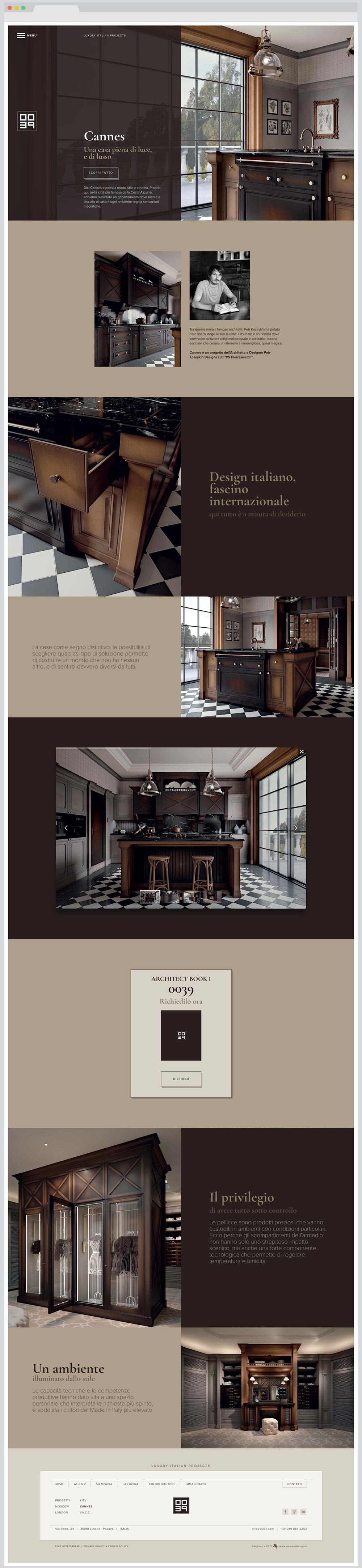 Progetto 0039 - Italian Luxury Design